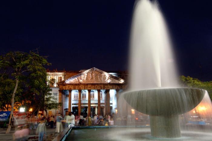 Fotografía Teatro Degollado, Guadalajara
